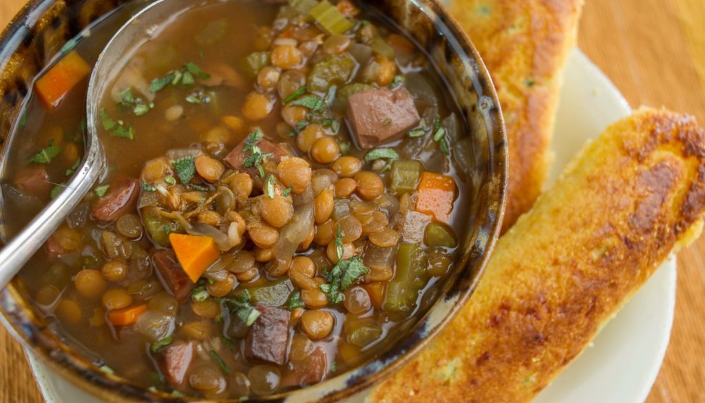 Lentil and Ham Soup